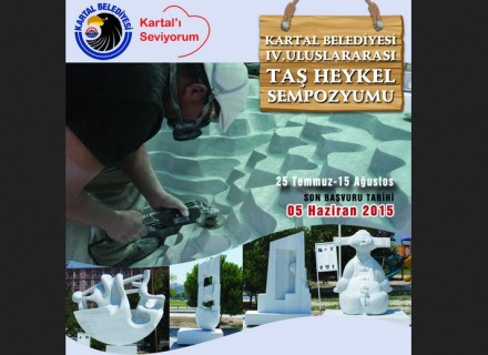 International Stone Sculpture Symposium, Kartal, Turkey.