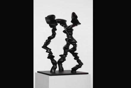 """Tony Cragg: """"Points of View"""", 2014, bronze, 93 x 50 x 50 cm."""