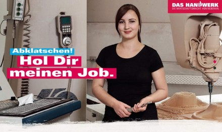 Eines der Plakate der neuen Kampagne.