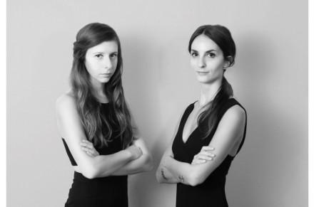 Amen Studio: Federica Ghinoi (esq.) e Ilaria Corrieri.