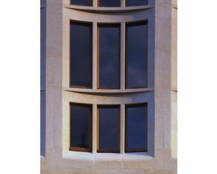 Christoph Sattler: Edificio en la Leipziger Platz, Berlín.