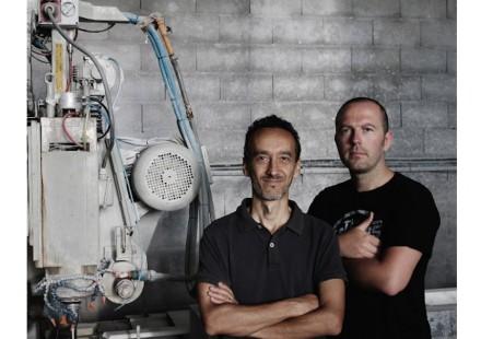 Paolo Ulian (left), Moreno Ratti.