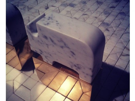 Fare Vivere il Marmo: Casa di Pietra, Gumdesign. Foto: CarraraFiere