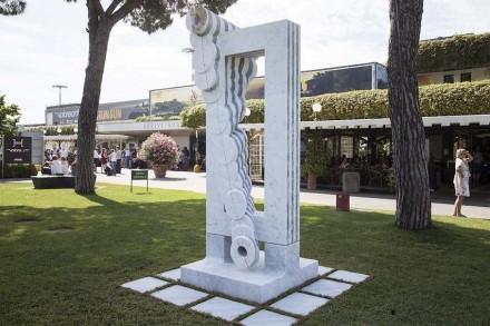 """Park Eun Sun, Fondazione Henraux: """"VolareArte""""."""