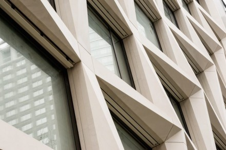 """El edificio de oficinas """"FortySeven & Co""""."""