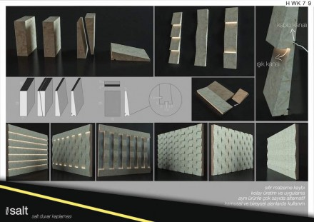 Students, First Prize category Floor and Wall Tiles: Nazım Dağdeviren and Emel Topuz from Kocaeli University.