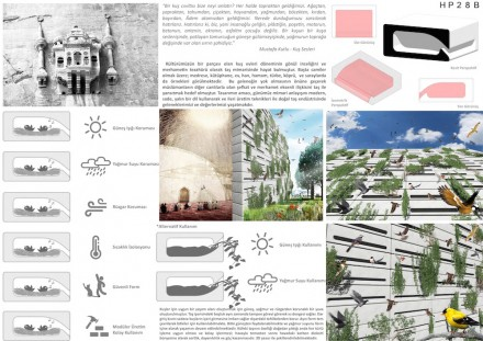 Students, First Prize category Sacred Spaces: Ömer Yeşildal from Abant İzzet Baysal University.