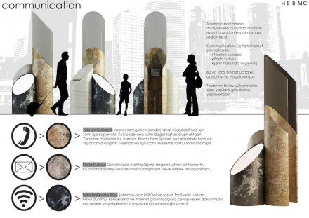 Students, Second Prize category Fandscape and Furniture: Ogün Çanga from Marmara University.