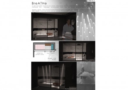 Professional designers, Honorable Mention (category Turkish Bath and Bathroom): Özge Dinç and Kerem Ekinci.