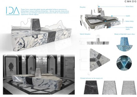 Students, First Prize category Turkish Bath and Bathroom: Gülesin Özkoç and Burak Bozok from Middle East Technical University.