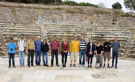 Schüler und Mitarbeiter des EFBZ sowie türkische Professoren und Studenten besuchen Metropolis.