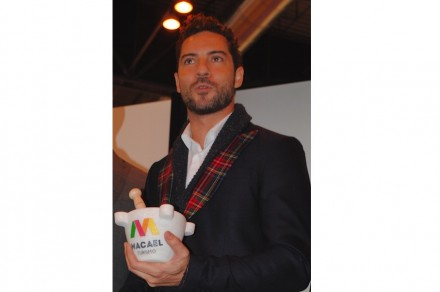 The Prize for Communication went to Latin-Grammy-Award-winning Spanish pop singer David Bisbal Ferré. The winner of a casting show originates from Alméria and won praise for his international renown.