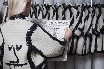 "Faye Toogood, Lapicida: ""The Cloakroom""."