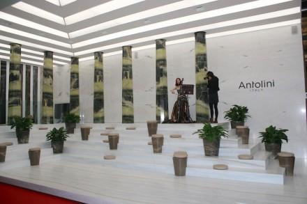 """""""Antolini Interpretations 2015"""": """"Antolini Interpretations 2015"""": Lanzavecchia + Wai, Salone del Mobile, Milan. Photo: Peter Becker"""