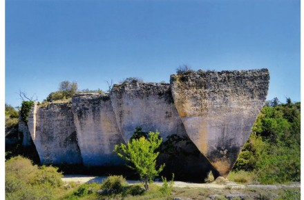 Category Quarries, 3rd Prize: Michèle Méric, Cournonsec quarry, Montpellier (Hérault).