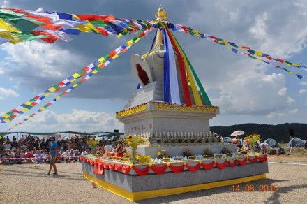 A Buddhist Stupa-Temple in Bulgaria was endowed with one of the main prizes.