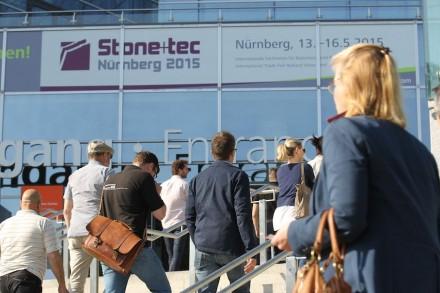 Mit dem erweiterten Fachbeirat will sich die Nürnberger Stone+tec stärker als Treffpunkt für die gesamte Natursteinbranche profilieren. Nächster Termin: 24.-27. Mai 2017. Foto: Thomas Geiger / NürnbergMesse