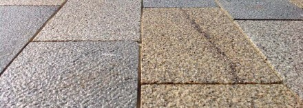 But that's not all that holds the passage together as a unit. The eye-catching paving adds to the effect, especially since the paving spills out to the adjacent street. Photo: Clemens Franke