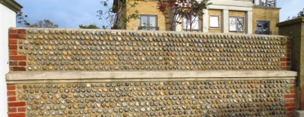 """""""Cobbles"""" are stone washed round in streams."""