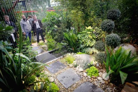 """Le Carré des Jardiniers"" at the Paysalia 2015 promotes innovative garden and landscape design. Photo: Paysalia"