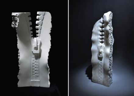 "Serdar Kaynak: left: ""Zipper"", right: ""Naive 2""."