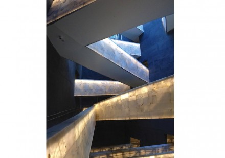 Award of Merit (Commercial Interior): Canadian Museum of Human Rights, Winnipeg, Manitoba.