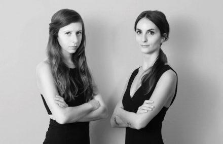 Amen Studio: Federica Ghinoi (left) und Ilaria Corrieri.