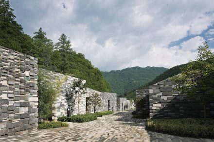 Kengo Kuma and Associates: Yunfeng Spa Resort.