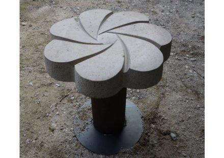 Variante der Sitzblume.