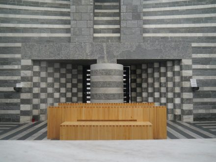 Mario Botta: San Giovanni Battista. Photo: Zairon / Wikimedia Commons