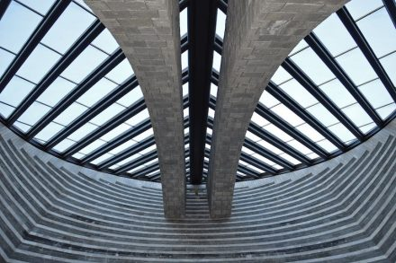 Mario Botta: San Giovanni Battista. Photo: Irene Grassi / Wikimedia Commons