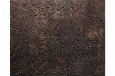 """Marella Ferrera, Lithea: """"Centrini"""". Pietra Pece marble."""