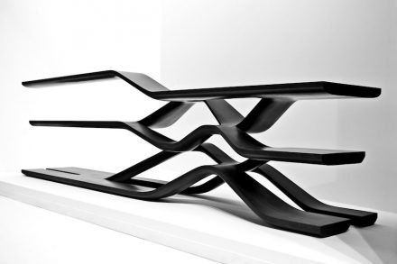 Zaha Hadid: shelf (2014).