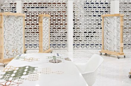 """Budri: """"Marblelace"""". Design: Patricia Urquiola."""