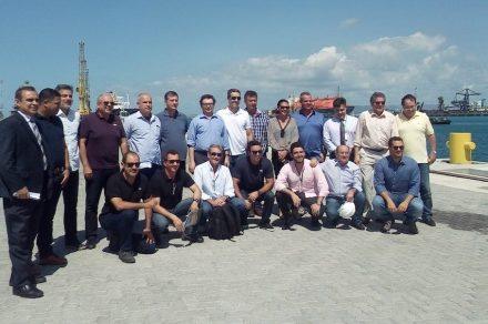 Para os expositores, o programa incluiu também uma visita à ZPE do porto de Pecém.