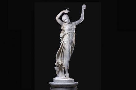 Antonio_Canova: Tänzerin mit Zimbeln. Foto: Staatliche Museen zu Berlin, Skulpturensammlung / Antje Voigt