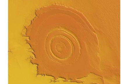 Richat-Struktur in Mauretanien.