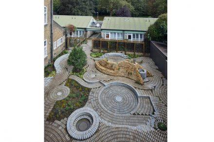 South London Gallery garden by Gabriel Orozco, 2016.