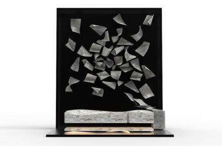 CONVERSATION ON STONE by: Marco Piva, Company: Helios Automazioni, Material: Bianco di Carrara.