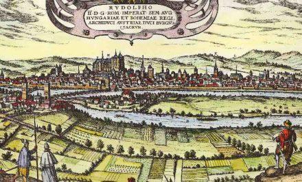 Ausschnitt aus der Stadtansicht von Regensburg, Georg Braun/Franz Hogenberg (zwischen 1572 und 1618). Quelle: Wikimedia Commons