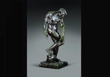 """Auguste Rodin: """"Adam"""" (for """"The Gates of Hell"""") 1881, Bronze, Alexis Rudier Foundry, cast 1928-1929, 197 x 76 x 77 cm. Art Gallery of Ontario, Toronto, purchased 1929. Photo: AGO"""