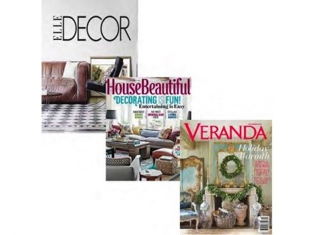 Communication Award: HEARTS DESIGN GROUP, represented by their director NEWELL TURNER, with magazines like Elle Decor, House beautiful, Metropolitan Home and Veranda.
