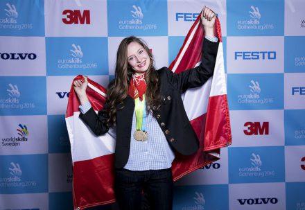"""Best of Europe"": Lisa Janisch from Austria."