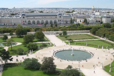 The Musée d'Orsay from the Tuileries Garden on the other side of the river. Photo: Wikimedia Commons / Biker Normand