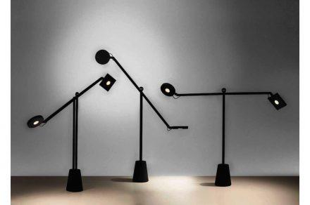 """""""Jean Nouvel, mes meubles d'architecte"""": Equilibrist, 2014, Artemide. Fotos: Musée"""