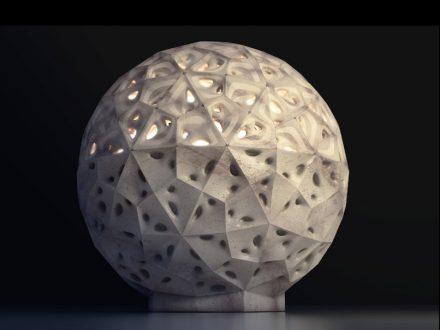 Giuseppe Fallacara, Maurizio Barberio: "StonePolySphere".