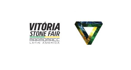 Logo of Vitória Stone Fair.