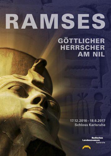Ausstellungsplakat. Grafik: Danica Schlosser. © Badisches Landesmuseum