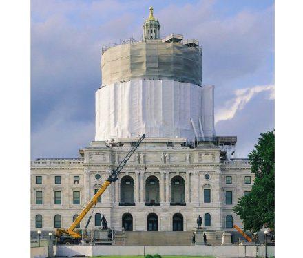 Grande Pinnacle Award for The Minnesota State Capitol exterior stone restoration.
