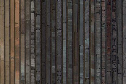 Segmente des Bohrkerns von IODP-Expedition 351. Foto: Philipp Brandl, GEOMAR